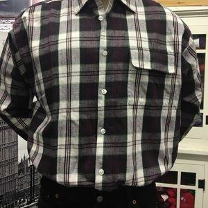 Arizona Plaid Long Sleeves Button Down Shirt